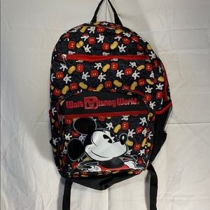 Walt Disney World Mickey Mouse Backpack EUC